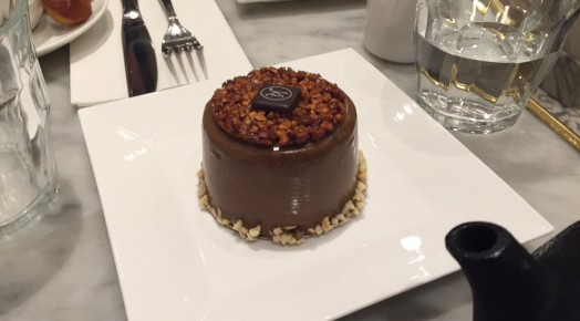 Small mousse cake from Maison Kayser