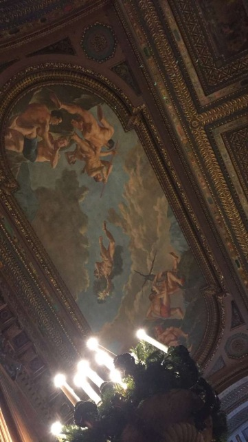 New York Public Library ceiling
